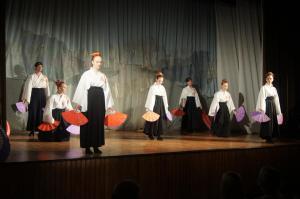 Pokaz tańca japońskiego