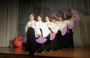 Choreografia w japońskim tańcu