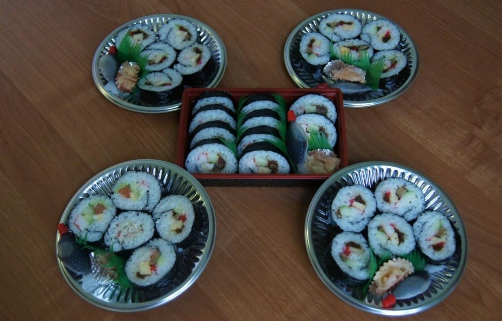 syshi - tradycjyjna potrawa japońska