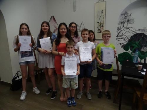 Język chiński - zakończenie roku szkolnego 14 06 2019