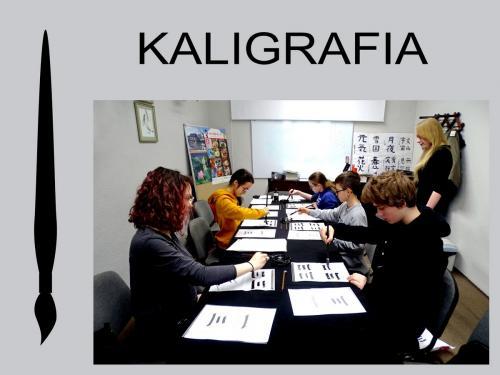 Warsztaty kaligrafii styczeń 2020